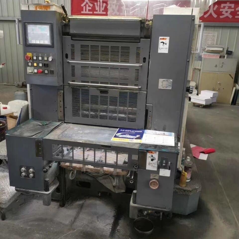 出售良明750-4色印刷机