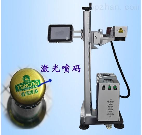 流水线: 光纤激光喷码机