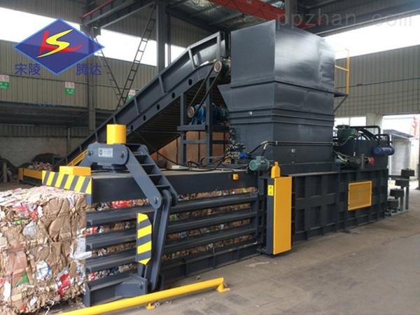 180吨卧式废纸打包机