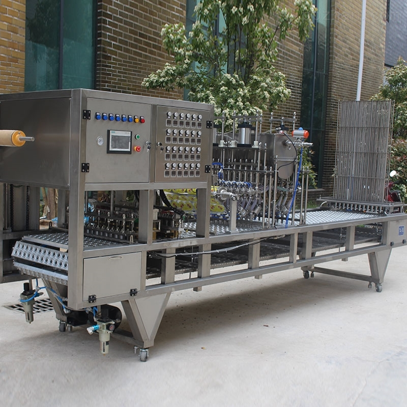 果冻灌装封口机 全自动食品包装机