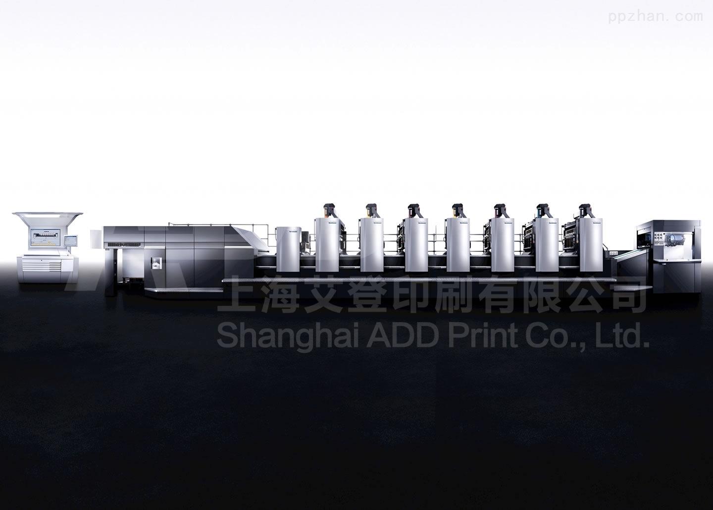 海德堡CD102 7+1 UV印刷机