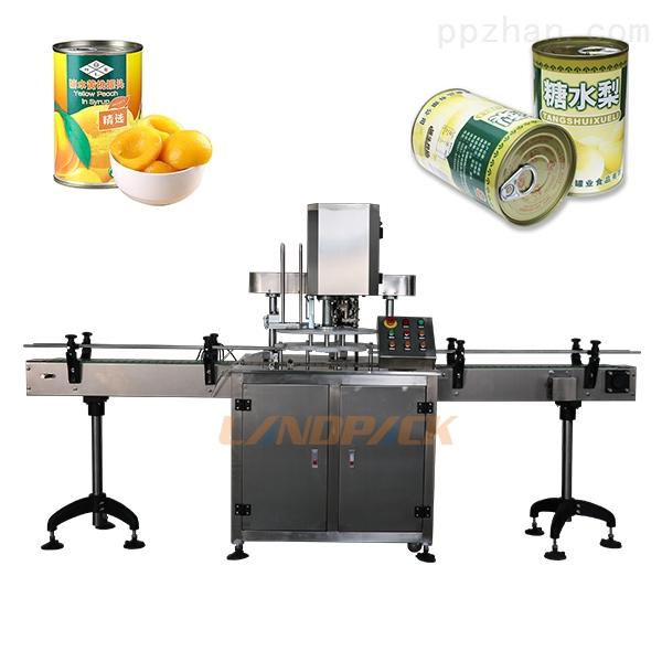 水果罐头封罐机_全自动水果罐头封罐机设备