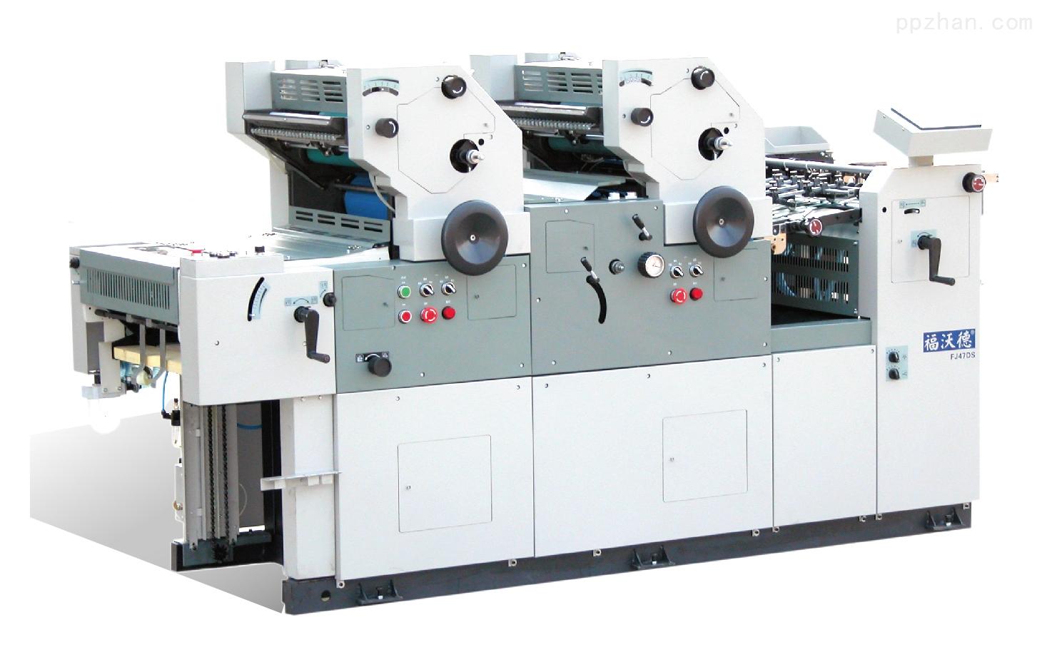 FJ47/56DD机组式双面、双色胶印机