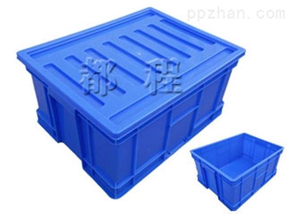 X218塑料周转箱(箱盖可选)