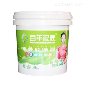 10L热转印涂料桶硅藻泥桶
