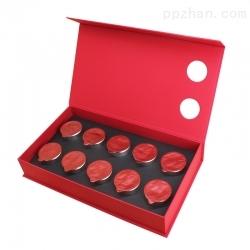 红色书型礼盒